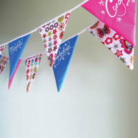 Triangular Synthetic Bunting  - Outdoor