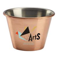 2.5oz Stainless Steel Ramekin - Copper