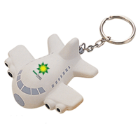 Stress Aeroplane Keyring