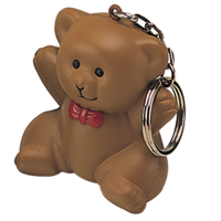 Stress Teddy Bear Keyring