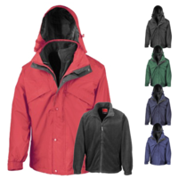 3-in-1 Waterproof Fleece Lined Jacket