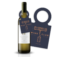 Seeded Paper Wine Bottle Tag