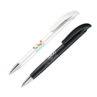 senator Challenger Polished plastic ball pen with metal tip