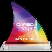 Award - Fin Shaped (Full Colour Print)