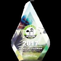 Award - Pentagonal (Full Colour Print)