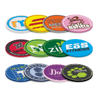 PVC Coaster (Up to 4 Colours Injection Moulded)