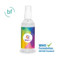 Hand Sanitiser 100ml Atomiser (Full Colour Label)