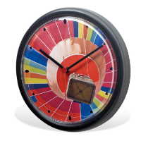 Icon Wall Clock (Full Colour Print)