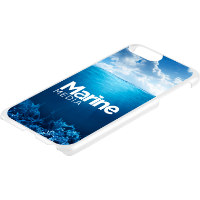 iPhone 6, 7 or 8 Plus Case - Hard Shell (Spot Colour Print)