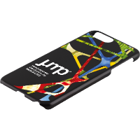 iPhone 6, 7 or 8 Plus Case - Black or Transparent Hard Shell (Full Colour Print)