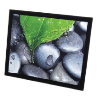 Jet Glass Wall Mount - Insert Size 406 x 508mm (Full Colour Print)