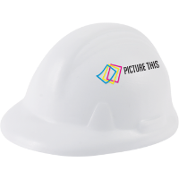 Stress Ball - Hard Hat Shape (Full Colour Print)