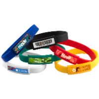 Silicone Wristband - Domed