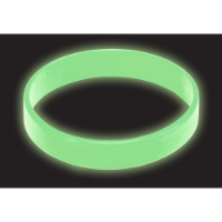 Silicone Wristbands - Glow in the Dark - Printed (Express)