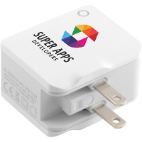 World USB Travel Adaptor (Full Colour Print)