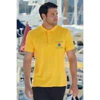 Fruit of the Loom Pique Polo Shirt - Coloured (Transfer Print - 305 x 305mm)