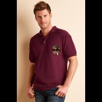 Gildan Ultra Cotton Pique Polo Shirt - Coloured (Transfer Print - 305 x 305mm)