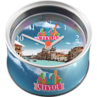 Can O' Clock (Full Colour Clock Face)
