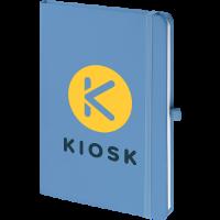 Mood™ Softfeel Notebook (De-Dome Print)