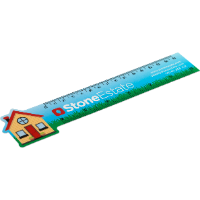 Never Tear 15cm/6 Inch Ruler - Bespoke (Full Colour Print)