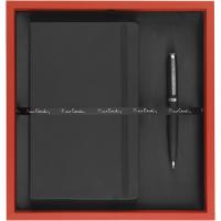 Pierre Cardin - Exclusive Gift Set I (Deboss to Notebook & Laser Engraving to Pen)