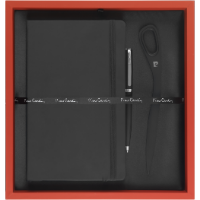 Pierre Cardin - Exclusive Gift Set II (Deboss to Notebook & Laser Engraving to Pen & Letter Opener)