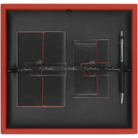 Pierre Cardin - Milano Gift Set I (Deboss to Notebook BCH and Laser Engraving to Pen)