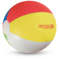 Beach Ball (Spot Colour Print)