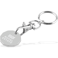 Trolley Coin - Keychain - 3 Day Service (Laser Engraving)
