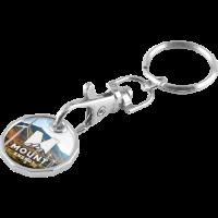 Trolley Coin Keychain (Full Colour Print) (£/€)