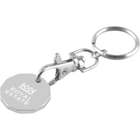 Trolley Coin Keychain (Laser Engraved) (£/€)