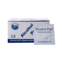 Disposable Alcohol Wipes (50s) - Bespoke Box