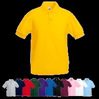 Kids Pique Polo Shirt