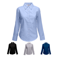 Lady Fit Long Sleeve Oxford Shirt