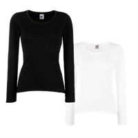 Lady Fit Value Long Sleeve T-Shirt