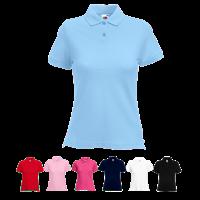 Lady Fit Pique Polo Shirt