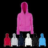 Lady Fit Zip Hooded Jacket
