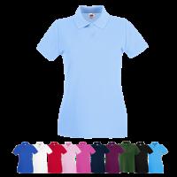 Lady Fit Premium Pique Polo Shirt