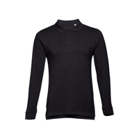 BERN. Men's long sleeve polo shirt