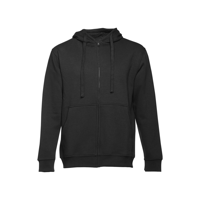 AMSTERDAM. Men's hooded full zipped sweatshirt