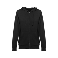 AMSTERDAM WOMEN. Women's hooded full zipped sweatshirt