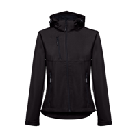 ZAGREB WOMEN. Women's softshell with removable hood