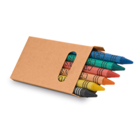 EAGLE. Box with 6 crayon