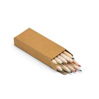 CRAFTI. Pencil box with 10 coloured pencils