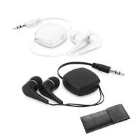 PINEL. Retractable earphones