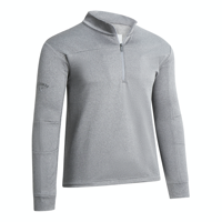 CALLAWAY GENT'S PIECED WAFFLE QUARTER ZIP GOLF PULLOVER WITH EMBROIDERY TO 1 POSITION
