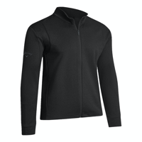 CALLAWAY GENT'S FULL ZIP WAFFLE GOLF PULLOVER WITH EMBROIDERY TO 1 POSITION