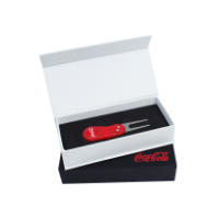 FLIX LITE AUTOMATIC GOLF DIVOT REPAIR TOOL PRESENTED IN A GIFT BOX