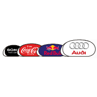 OVAL POP UP ADVERTISING BANNER SIZE 250 X 100 CM