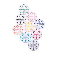 Digitally Printed Plastic Pokerchip Ball Marker